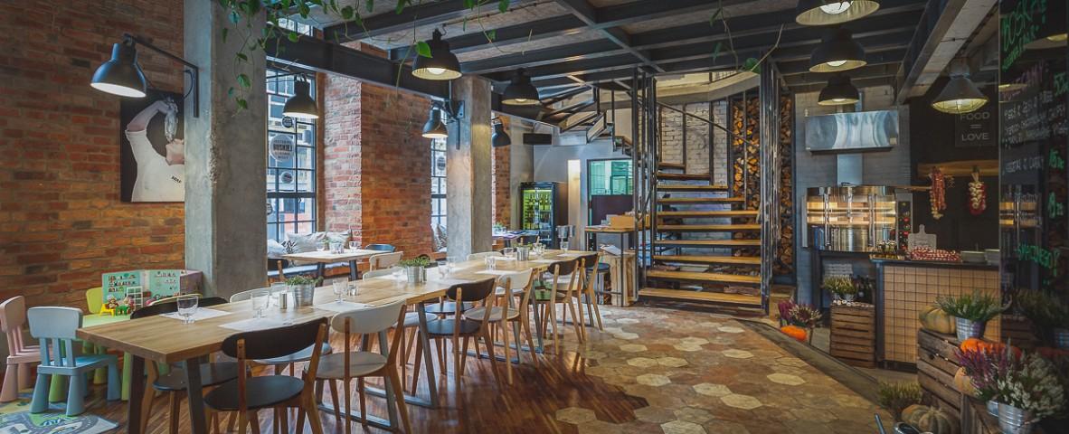 Boska Praga - wnętrze restauracji