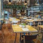 Restauracja Boska - wnętrze restauracji